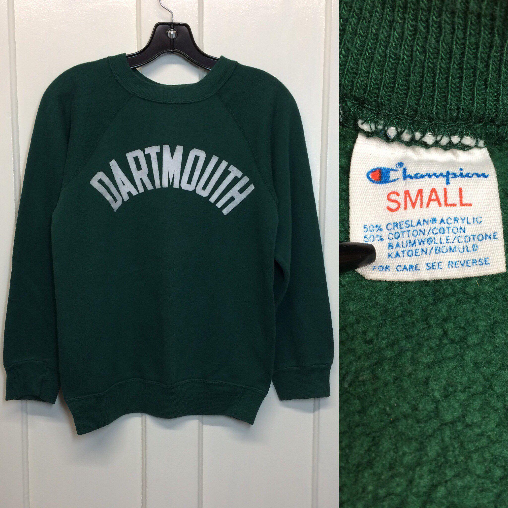 1980s Dartmouth College Ivy League Champion Brand Soft Cotton Etsy Champion Brand Cotton Sweatshirts [ 2048 x 2048 Pixel ]
