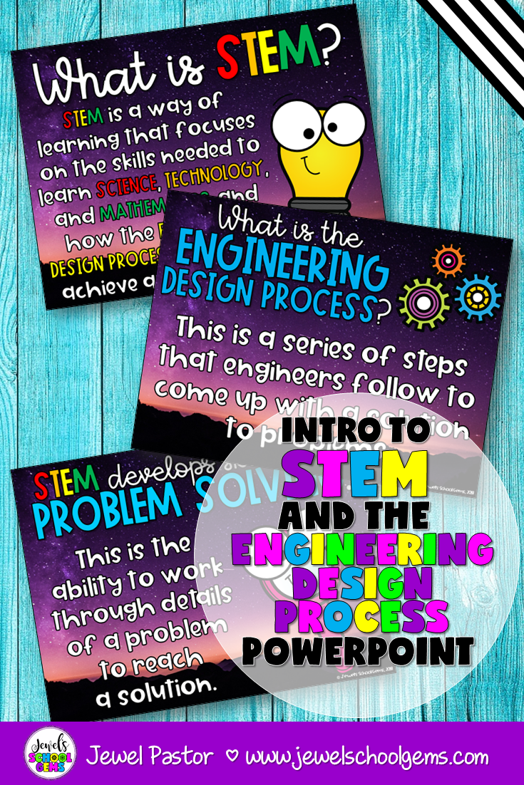 Introduction To Stem And The Engineering Design Process Powerpoint Science Teaching Resources Homeschool Programs Primary Teachers Resources