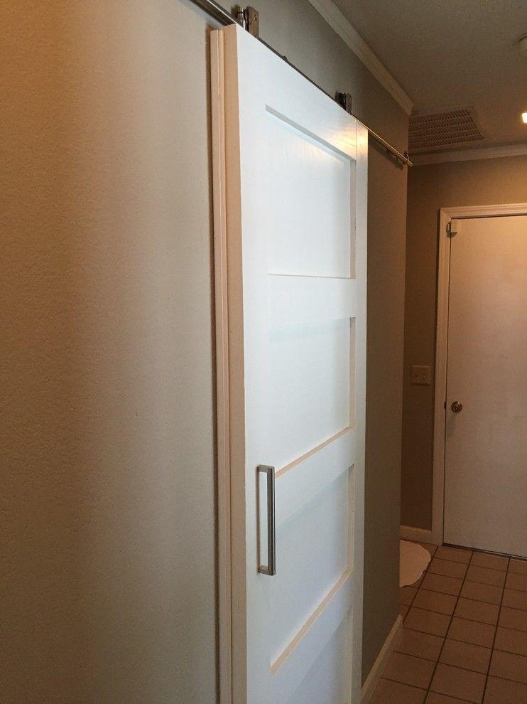 Use Weather Stripping To Seal A Sliding Barn Door Inside The Home Garage Door Design Barn Door Inside Barn Doors