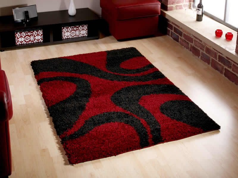 Red And Black Area Rugs | Cheap Rugs   Rugs Centre