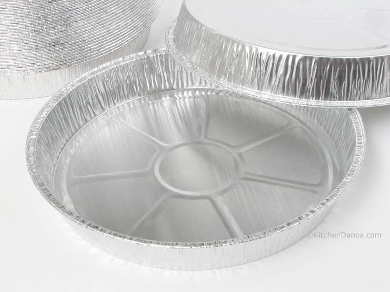 Kitchendance 8 Round Foil Cake Pan Cake Pans Cake Pan Sizes Round Cake Pans
