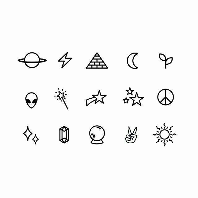 Idee per tatuaggi Stick e Poke alla moda Tumbl …