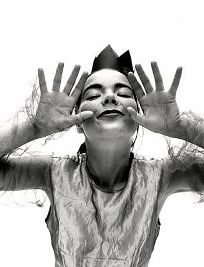 Björk photographed by Ruven Afanador.