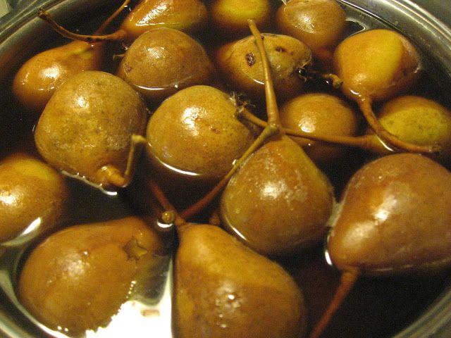 Rannalta katsoen: Päärynät purkkeihin