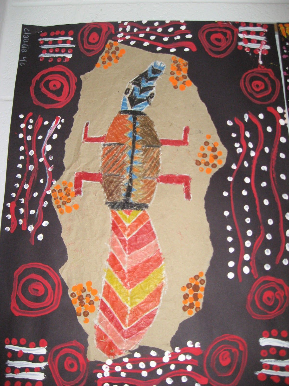 4th Grade Aboriginal Bark Paintings With Images