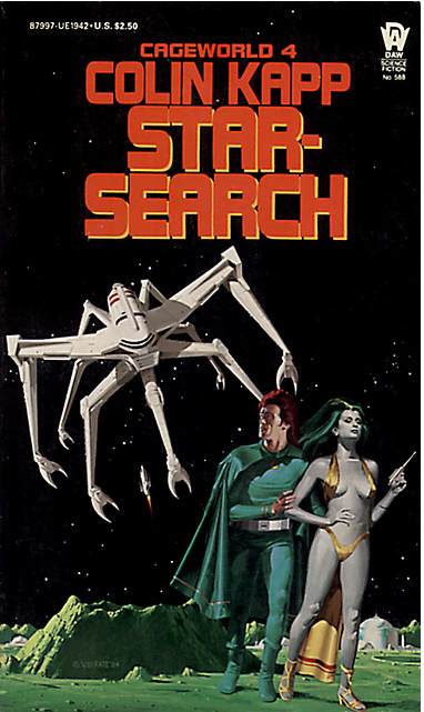 Vincent Di Fate's cover for the 1984 edition of Star-Search (1983), Colin Kapp