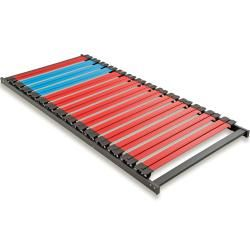 Photo of Dormillo Lattenrahmen Typ E – rot-hellblau – 80×200 cm Roller
