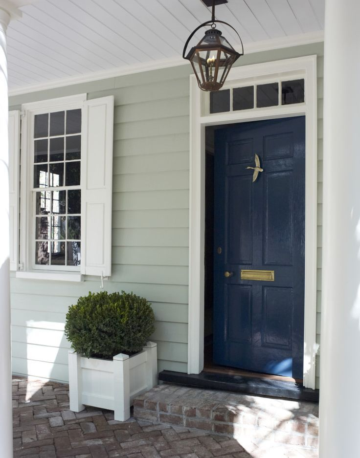 Pin by lindsey loo on home exterior house paint exterior - Door colors for gray house ...