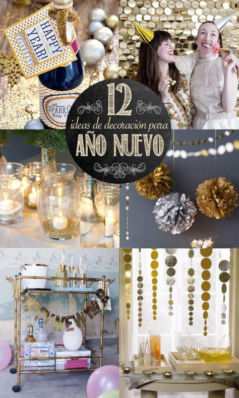 12 ideas de decoraci n para a o nuevo desde el blog del - Blog decoracion navidad ...