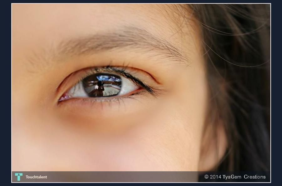 Through  my daughters Eye  ( cropped) #Creative #Art #Photography @touchtalent.com