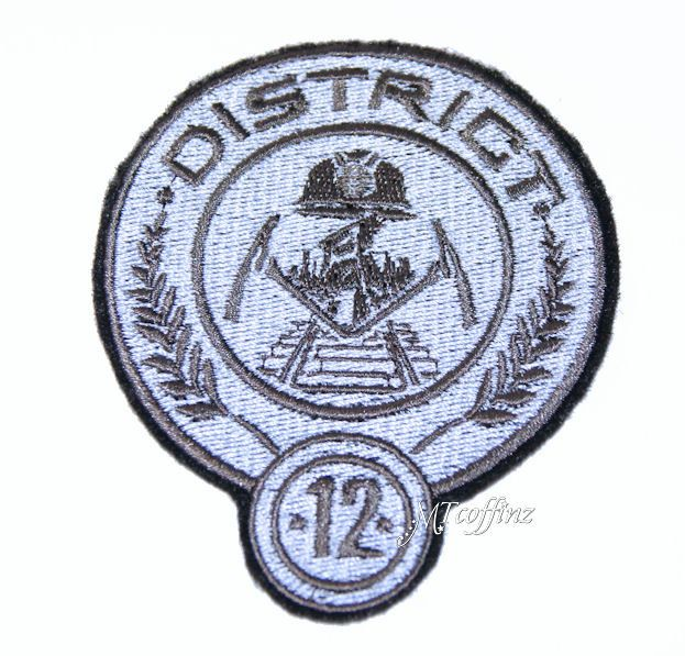 Hunger Games District 12 Iron On Embroidery Patch Mtcoffinz 800