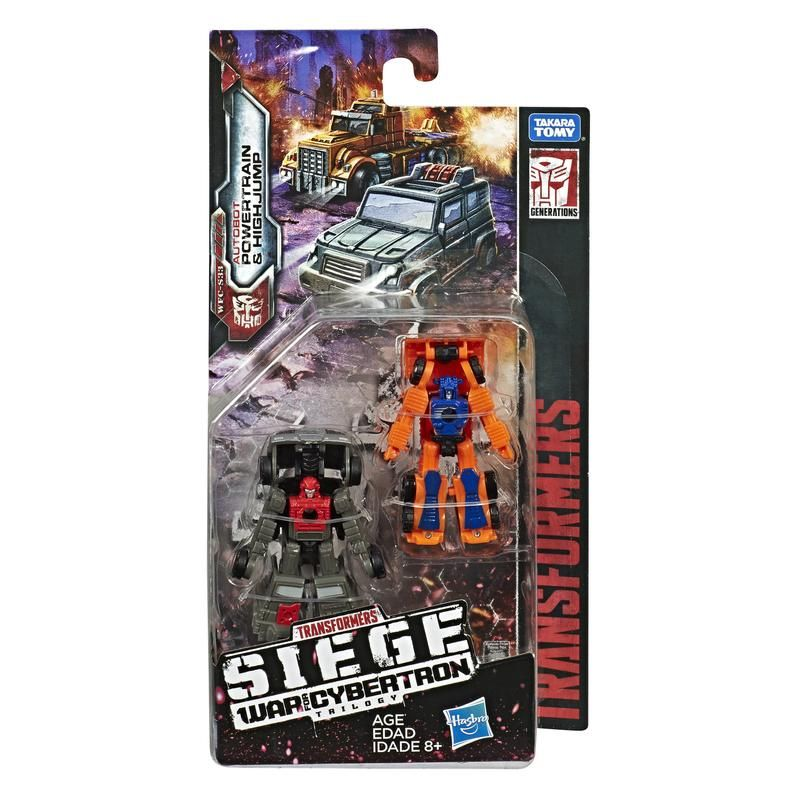 Transformers Generations WFC Siege Micromaster Off-Road Patrol 2-Figure Pack