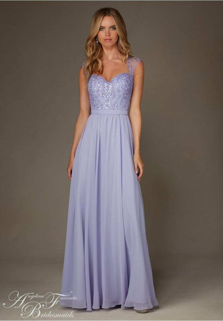 20473 bridesmaids dresses chiffon with beading bridesmaid gowns angelina faccenda bridesmaids by mori lee 20473 long chiffon bridesmaid dress designed by madeline gardner please view beaded chiffon swatch card ombrellifo Image collections
