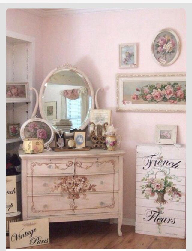 Shabby Chic Decor On A Budget