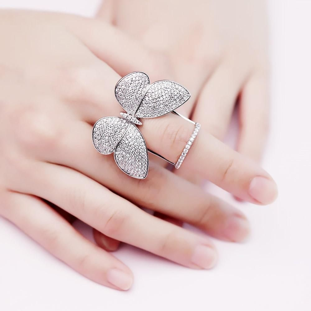Movable Butterfly Ring Butterfly Ring Rings Ring Bracelet