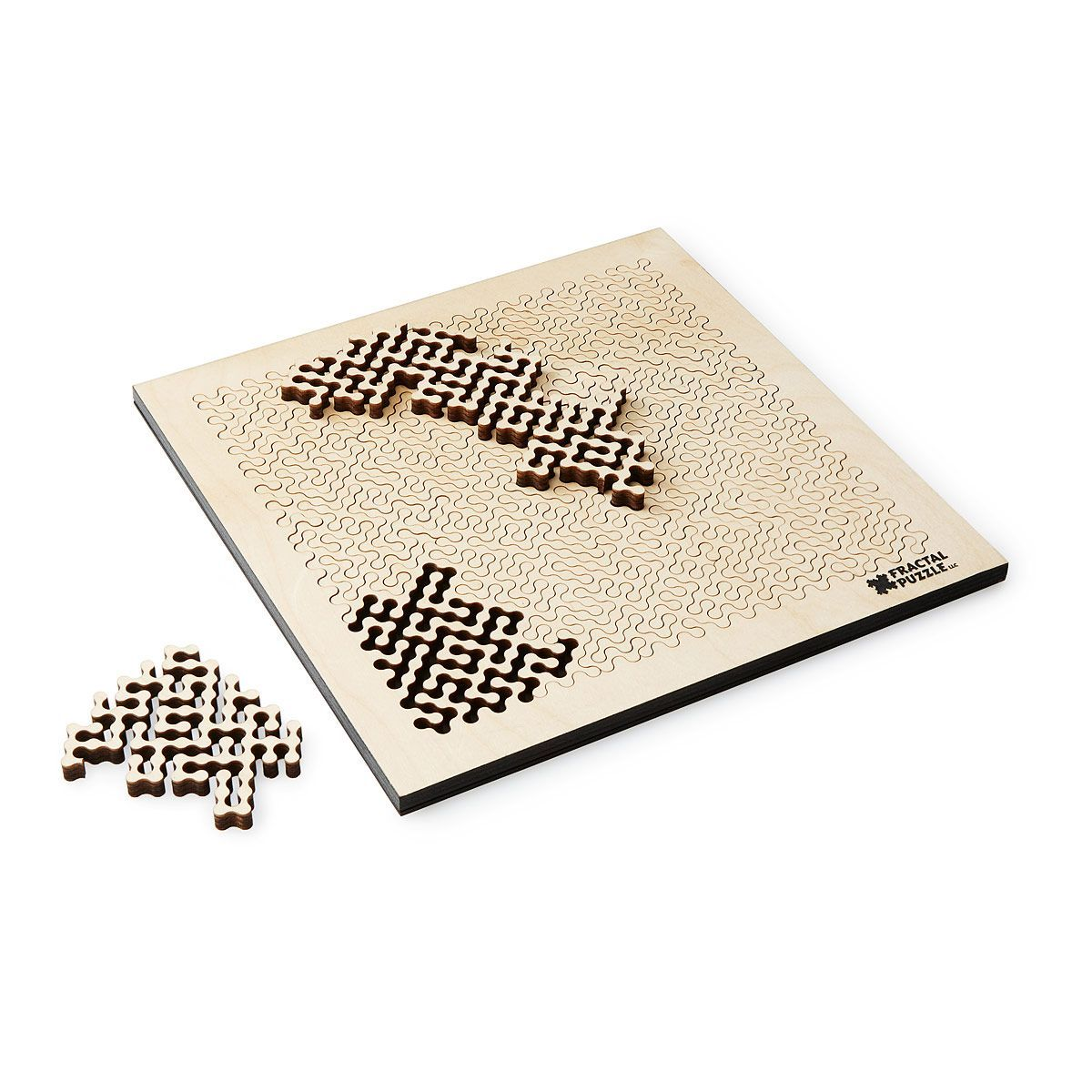 Fractal A Wooden Fractal Puzzle Products Puzzle Fractals