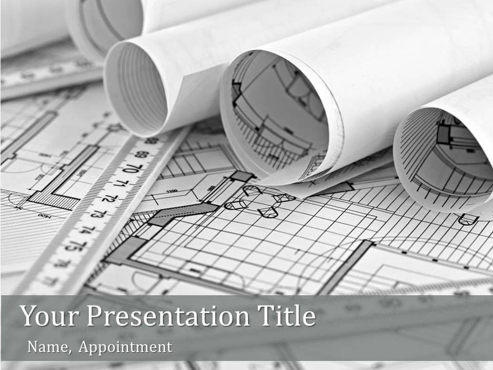 Unusual Ideas Architecture Ppt Design 5 Powerpoint Templates Free