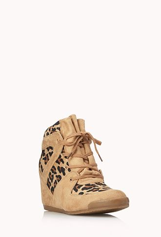 Wild Thing Wedge Sneakers | FOREVER 21 - 2000066044