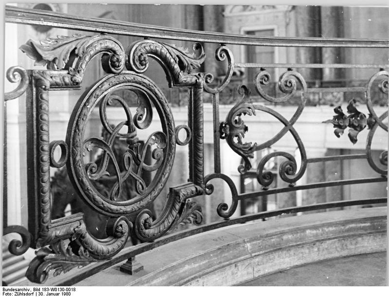 Berlin Bodemuseum Detail 30 January 1980 Friedrich