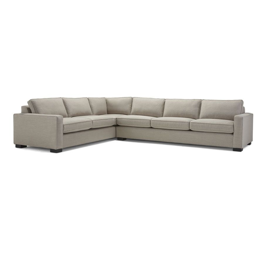 carson sectional mitchell gold bob williams different fabric