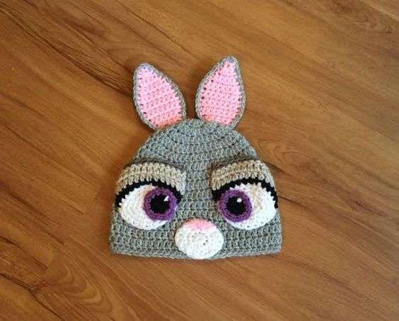 Gorritos de animales de crochet: fotos modelos - Gorro crochet de ...