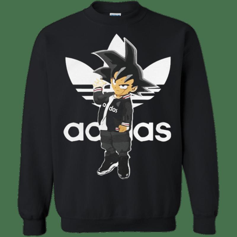 Monica postura Dar  TT0156 Saiyan Adidas Goku Adidas dragon ball BDZ 2018 Sweatshirt ...