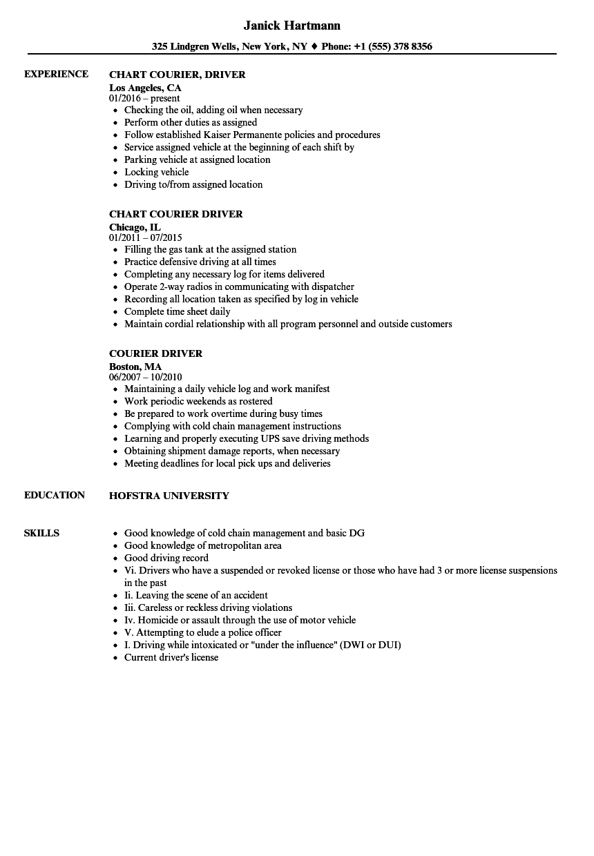 30 Truck Driver Resume Pdf Resume pdf, Job resume