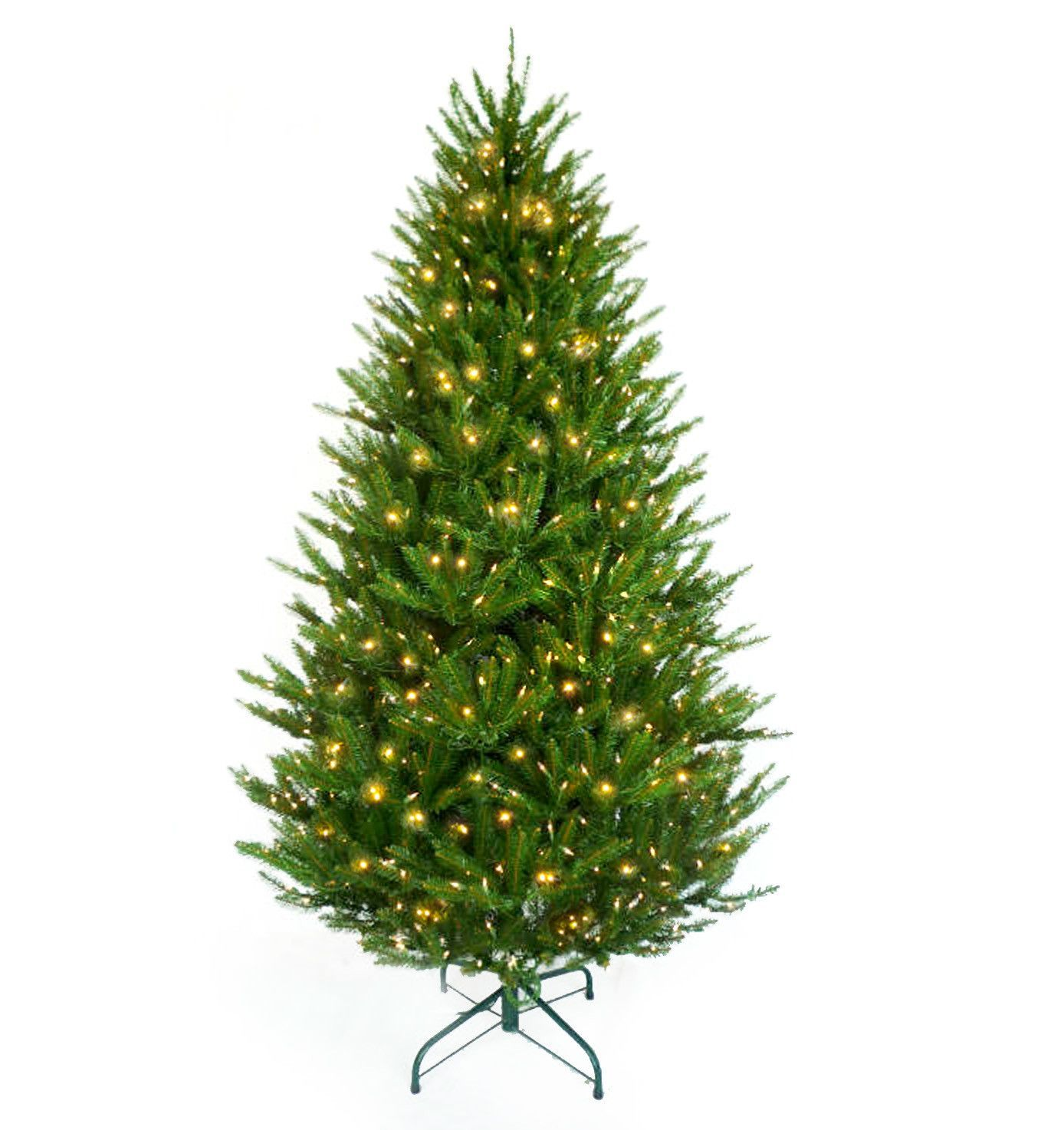 Snowtime 6 6' Green Pre-Lit Boston Spruce Artificial