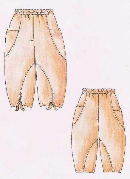 Lagenlook Einzel - Schnittmuster für Hose Macau | Patterns, Pants ...