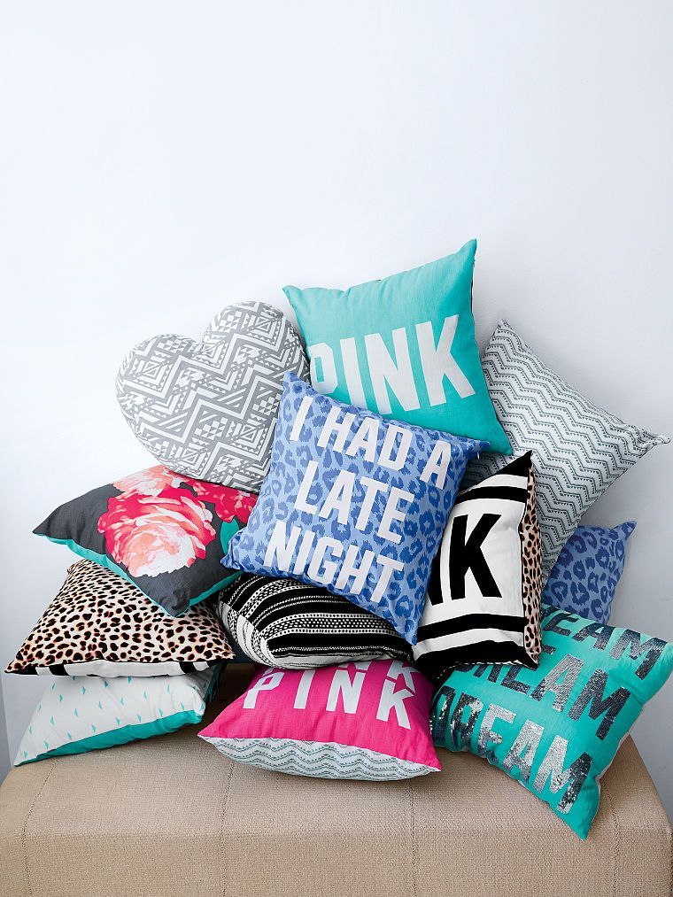 Throw Pillow Pink Victoria S Secret In 2019 Throw