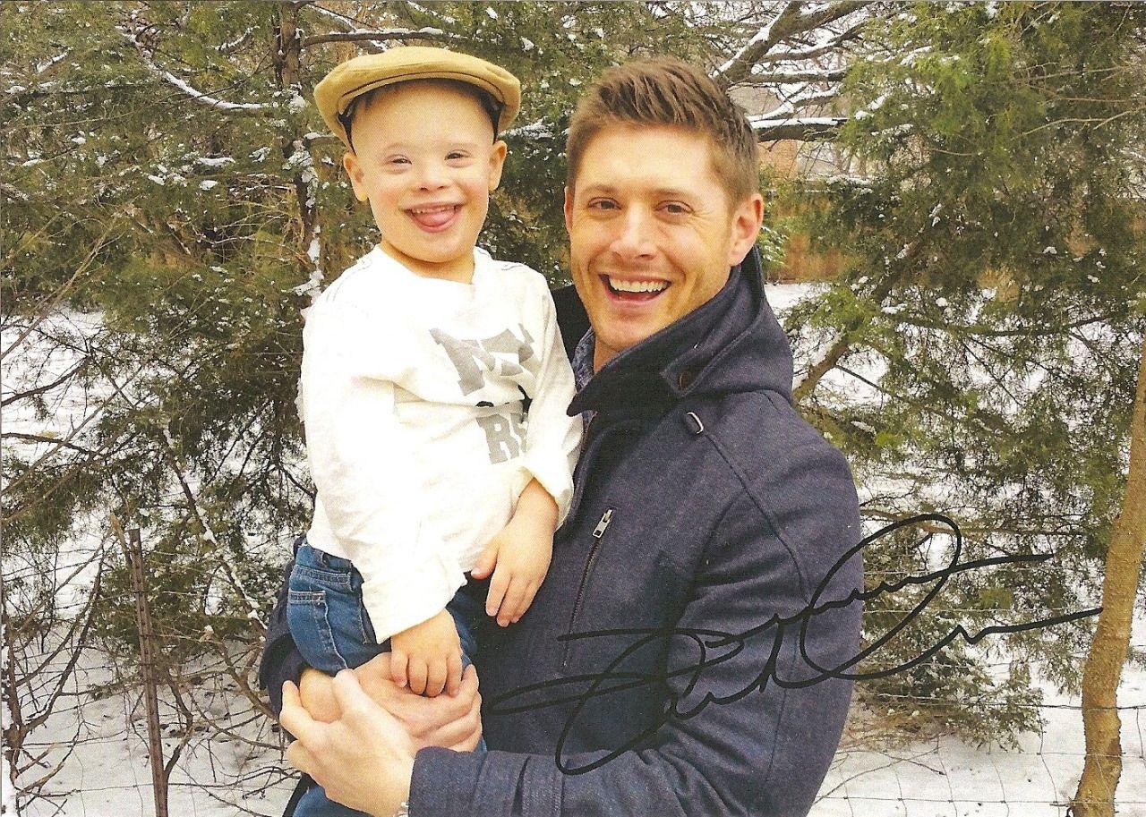Jensen and nephew Levi...