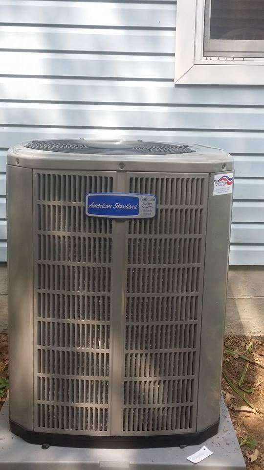 American Standard Platinum Series 20 Seer Variable Speed Air Conditioner American Standard Air Conditioner Home Appliances