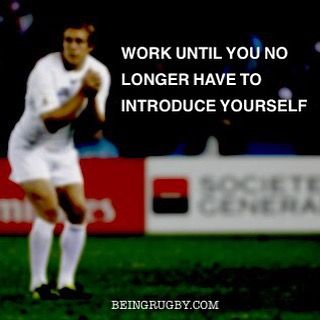Instagram Photo By Beingrugby Dec 8 2015 At 9 11pm Utc Motivational Quotes Work Hard How To Introduce Yourself