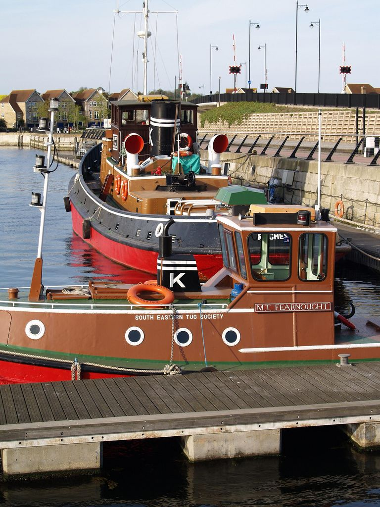 Tug boats in Chatham Marina [shared]