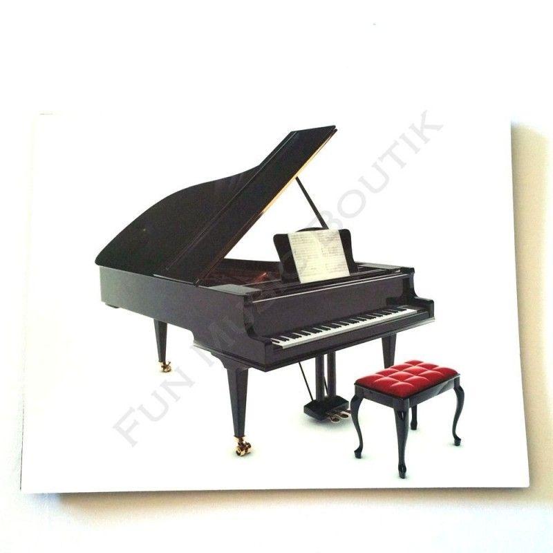 Tapis De Souris Motif Piano A Queue Fun Music Boutik Piano