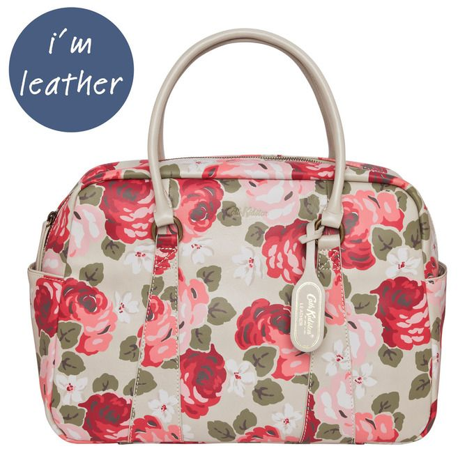 Aubrey Rose Leather Bowling Bag by Cath Kidston