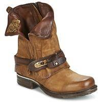 8a586a8a7d3c9f Schuhe Damen Boots Airstep   A.S.98 SAINT BIKE Camel