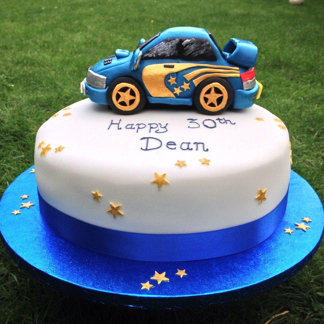 Personalised Acrylic Racing Car Steering Wheel Boy Racer Birthday Cake Topper