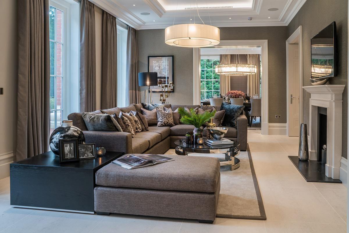 Modern Classic Interior Design Living Room Living Room