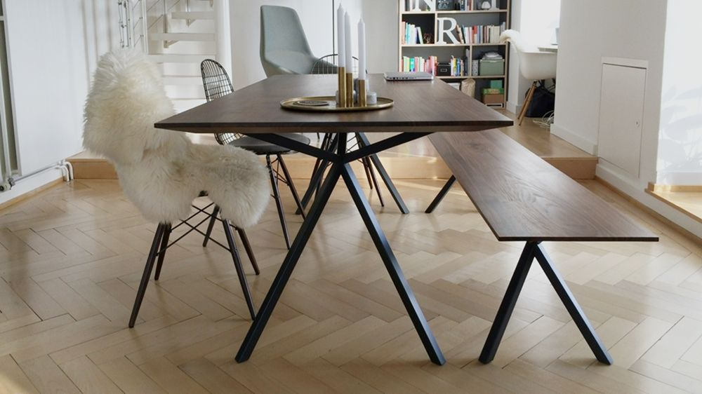 Massivholz Design elegantes design massivholz esstisch massivholz design tisch