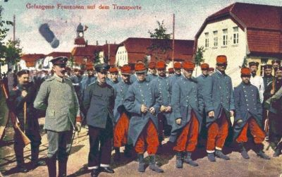 French prisoners of war, 1914
