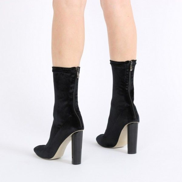Women's Spring New Chic Chunky Heel Ankle Boots