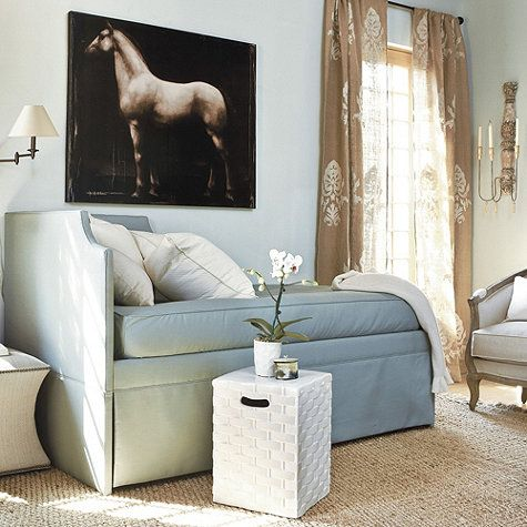 Couch By Day Bed For Two By Night Hidden Trundle Use