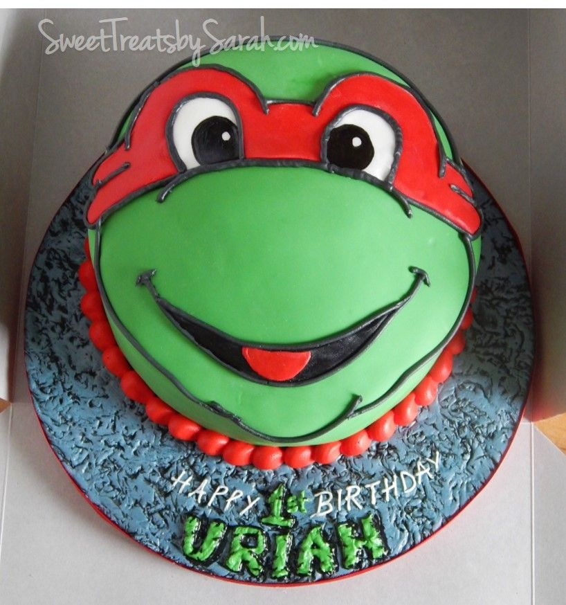Strange Tmnt Birthday Cake With Images Tmnt Birthday Ninja Turtle Funny Birthday Cards Online Ioscodamsfinfo