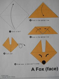Mrs. Ts First Grade Klasse: Fox in Socks Origami …. für Gänseblümchen 3 Beifall für … – Origami