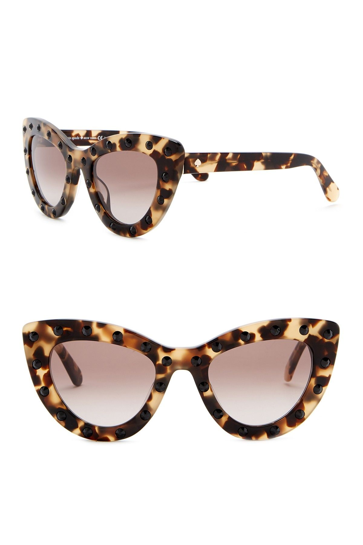 818f199a132 luann 50mm studded cat eye sunglasses by kate spade new york on   nordstrom rack