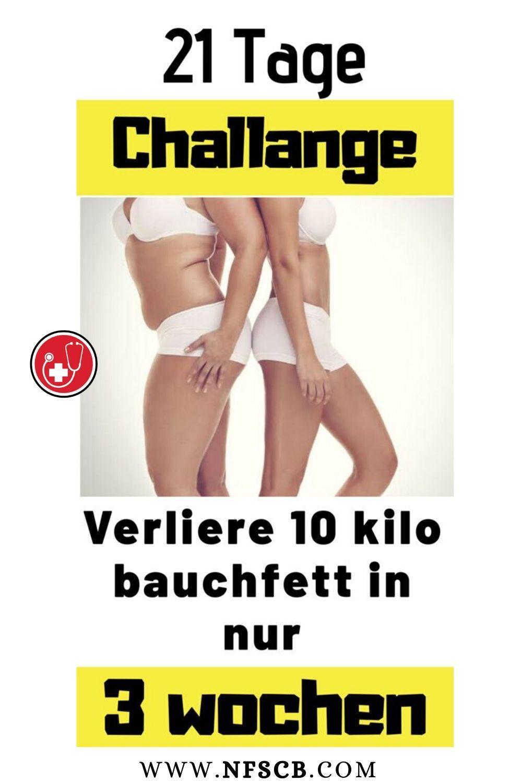Wie man in 3 Tagen 10 Kilo Gewicht verliert