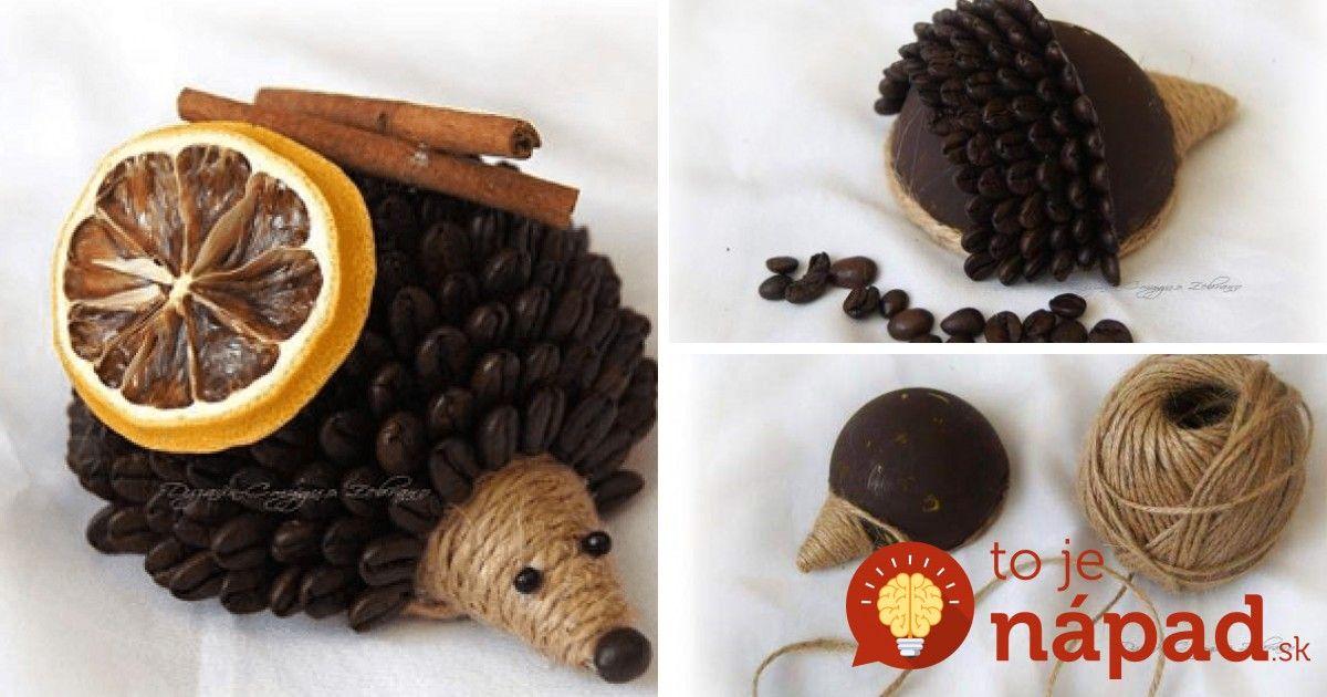 Originálna dekorácia, ktorá rozvonia váš domov lákavou vôňou kávy, škorice a sušeného ovocia. Navyše aj krásne vyzerá. Veď komu by sa nepáčil utešený ježko, ktorý do bytu vnáša pohodu a príjemnú jesennú atmosféru.