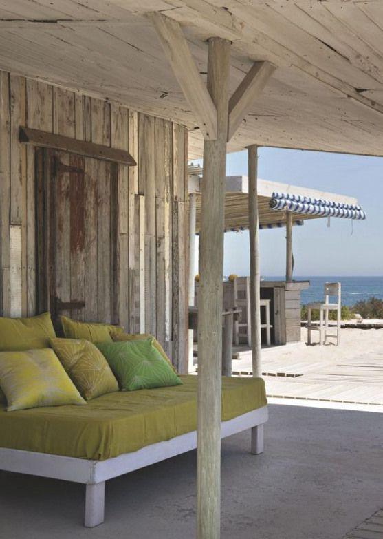 Une cabane maison de vacances familiale face à l'Ocean - CôtéMaison.fr #pergola #pergola # ...