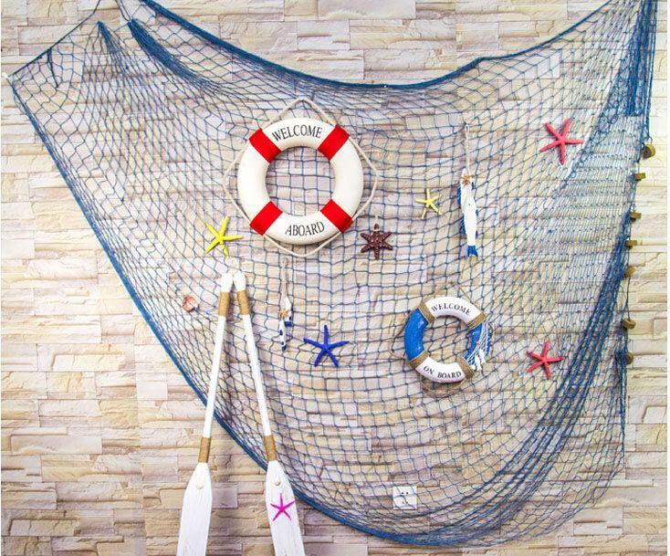 decoracion red de pesca - Buscar con Google | cafe | Pinterest | Red ...